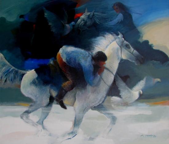 5  TÜ akrilik-Acrylic on canvas (120x140cm) 2010