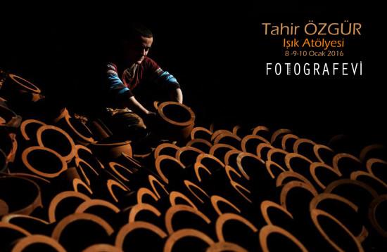 Tahir Özgür IŞIK ATÖLYESİ Trabzon FOTOGRAFEVİ de